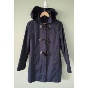 Navy blue Nautica rain jacket size medium